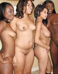 Threesome orgies
